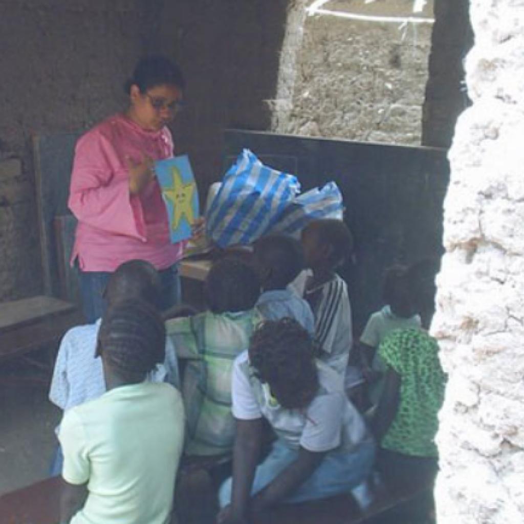 Patrícia Barendregt in Sudan